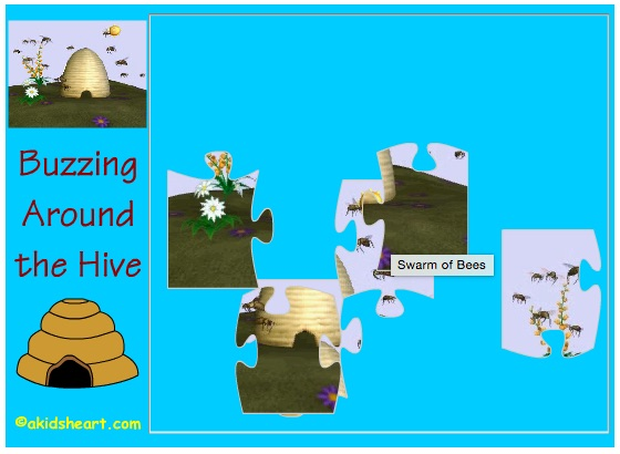 Bee Puzzle 2